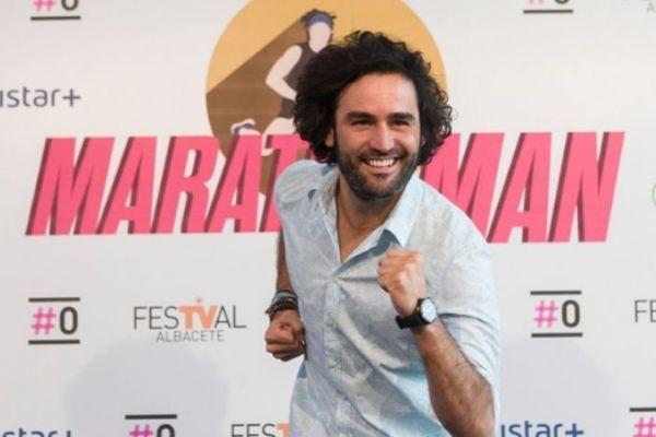 Raúl Gómez maratón man